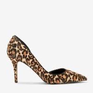 White House Black Market Ella Leopard Heels